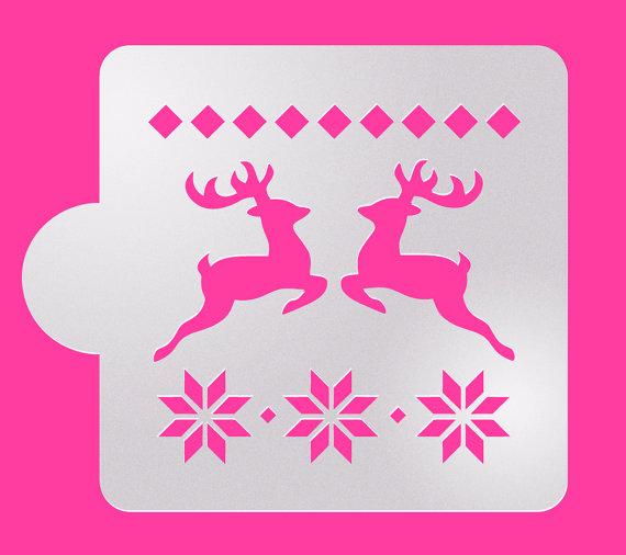 navidad stencil