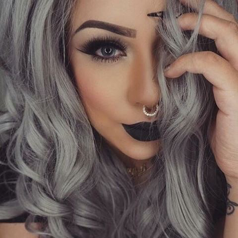 Qu lipstick usar seg n tu color de cabello - Colores que contrastan con el gris ...