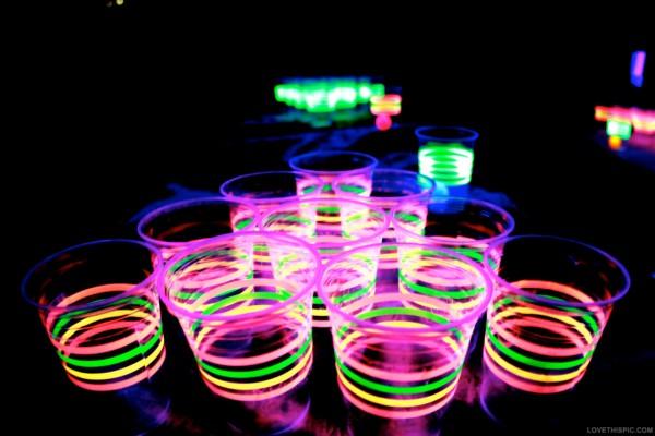 neon vasos