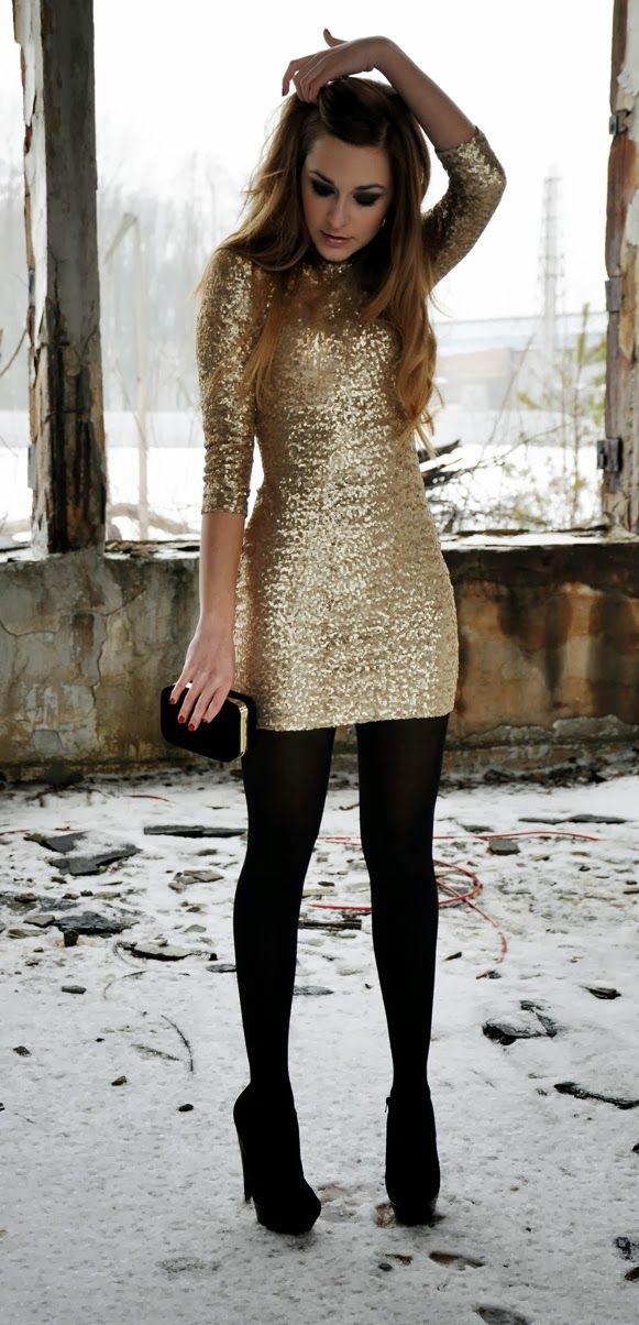 8a501b657 15 Outfits dorados para recibir al año nuevo como se merece