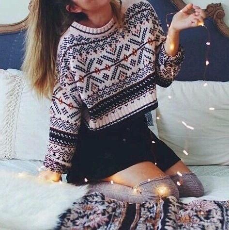 outfit navideño