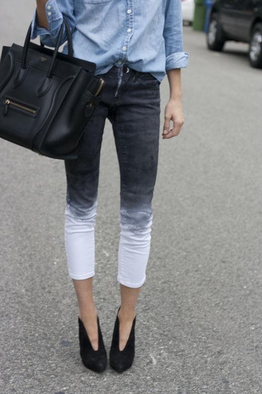 pantalon ombre
