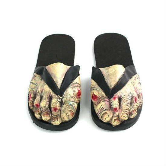 pantuflas zombie