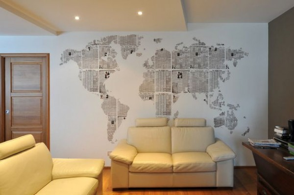 pared mapa