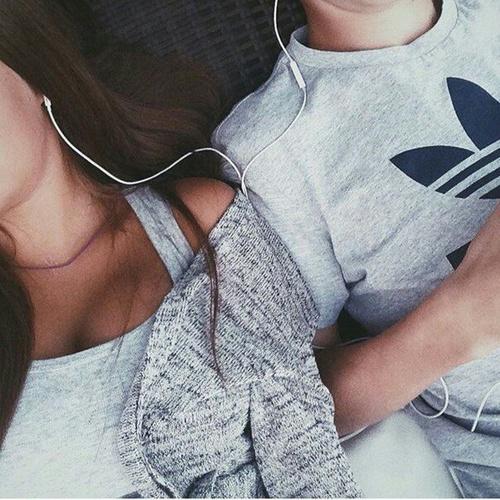pareja bella