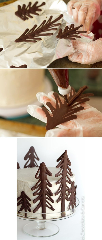 pastel navideños