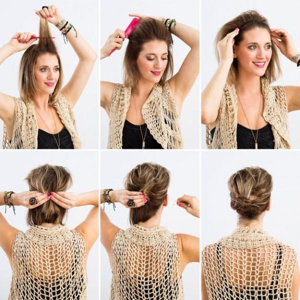Peinados Que Te Tomaran 10 Minutos Si Tienes El Cabello Corto