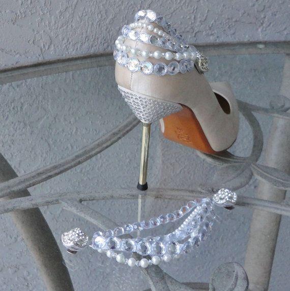 perlas zapatos