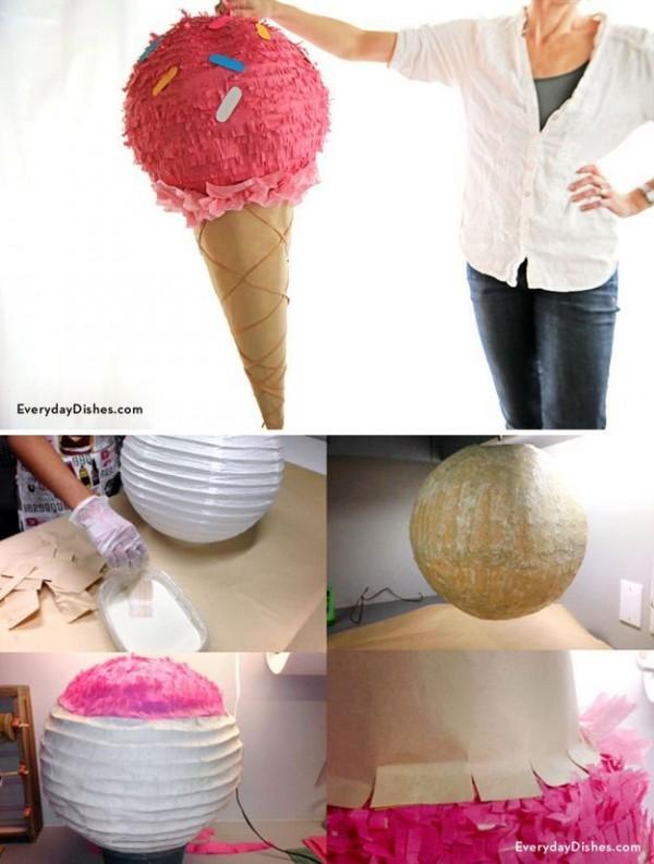 piñata helado