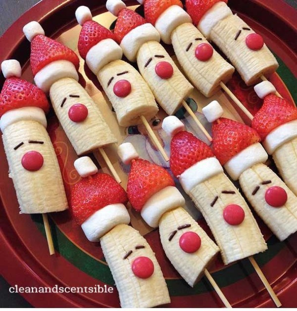 platanos navideños