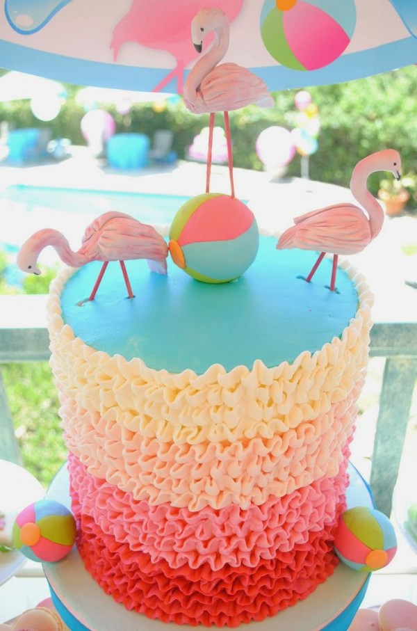 pool party pastel