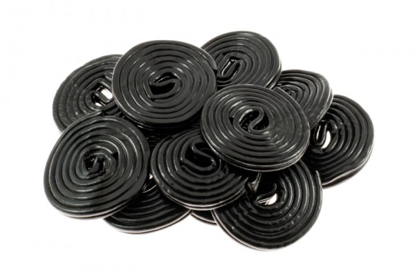 Licorice Candy Wheels