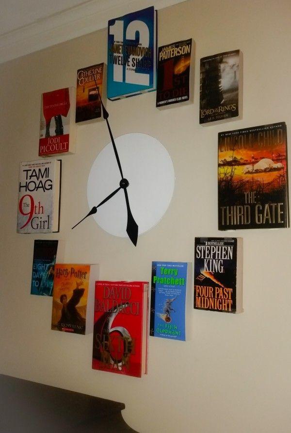 reloj -libros