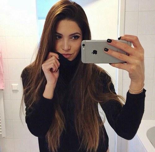selfie guapa