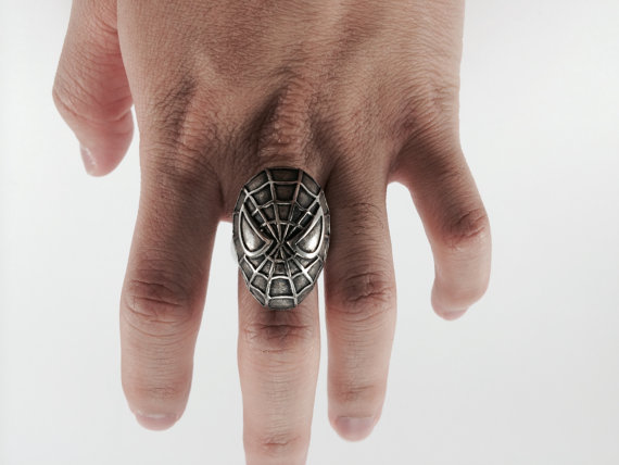 spiderman anillo
