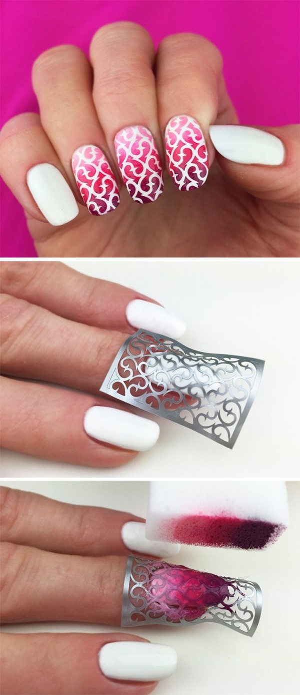 stencils nails