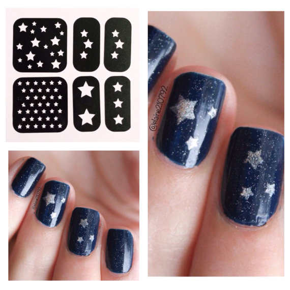 stencils stars