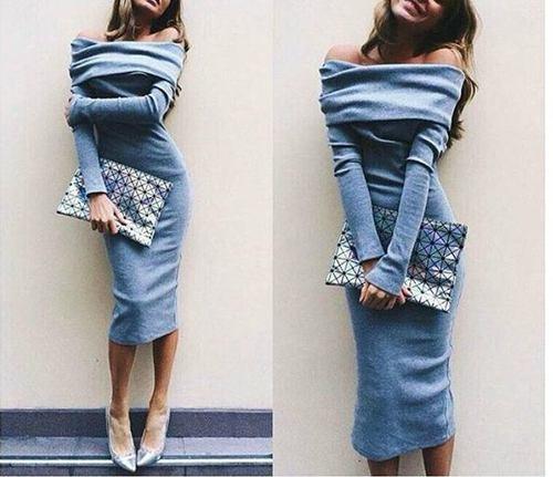 tacones vestido