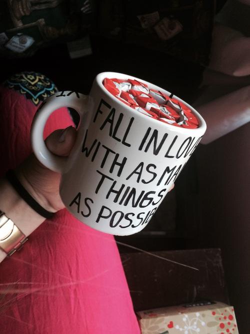 taza de regalo