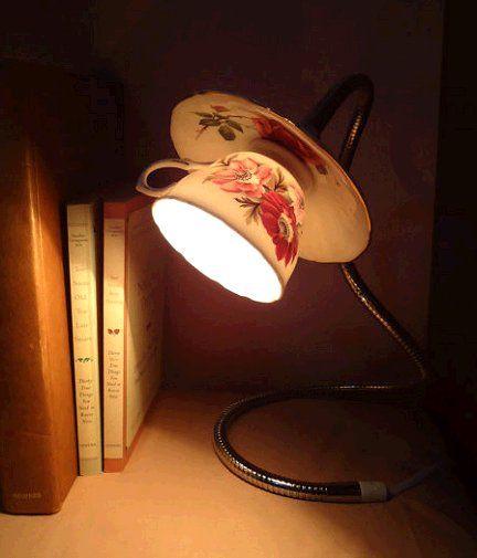 taza lampara