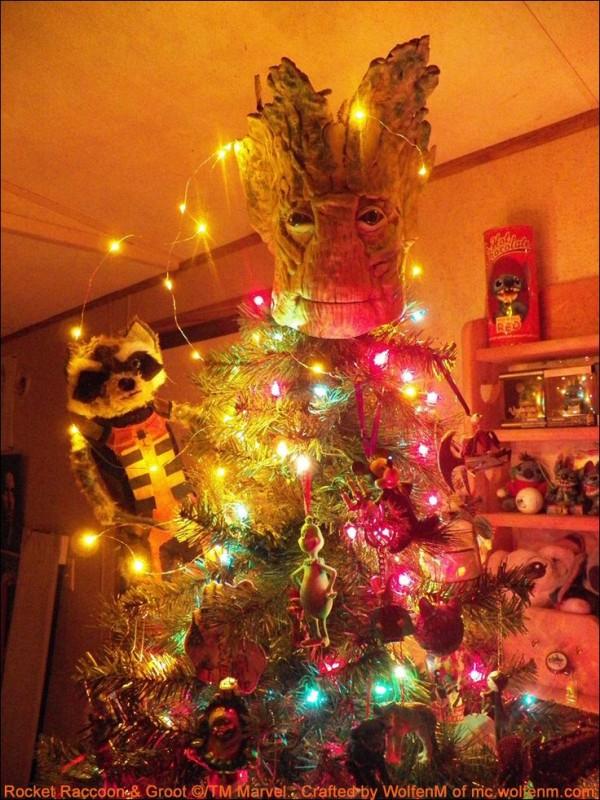 Adornos graciosos que merecen estar en la punta del árbol de Navidad