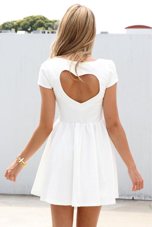 vestido corazon