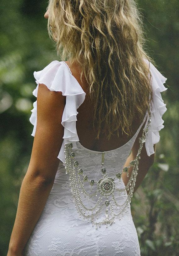 vestido de novia joyas