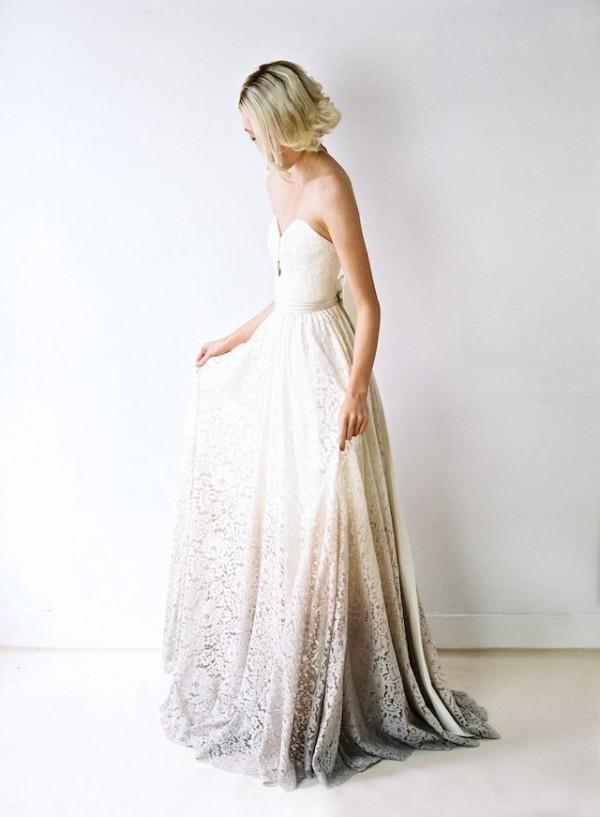 vestido novia inusual