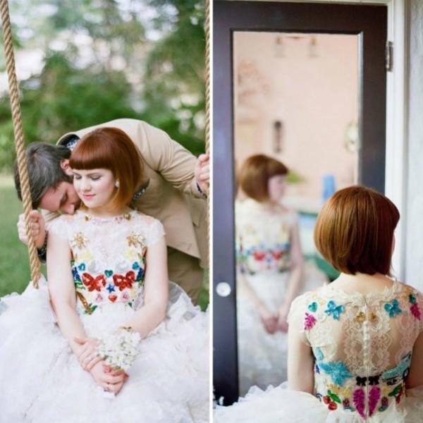 vestido novia no tradicional