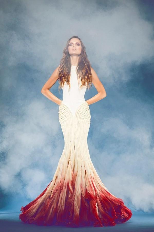 vestido sirena novia