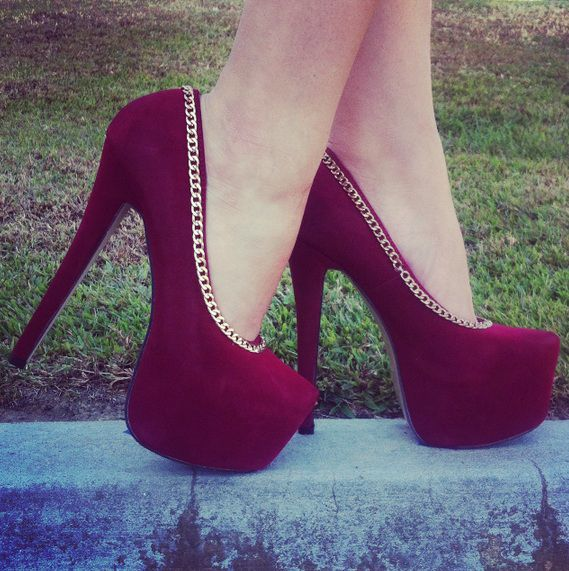 zapatos cadenas