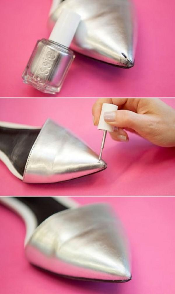 zapatos esmalte