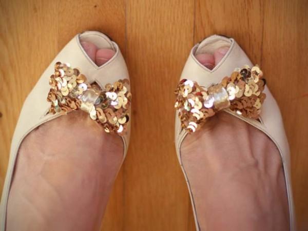 zapatos lentejuela