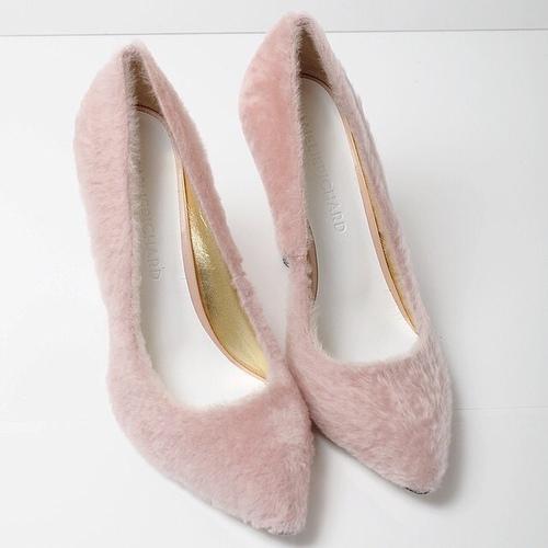 zapatos peluche