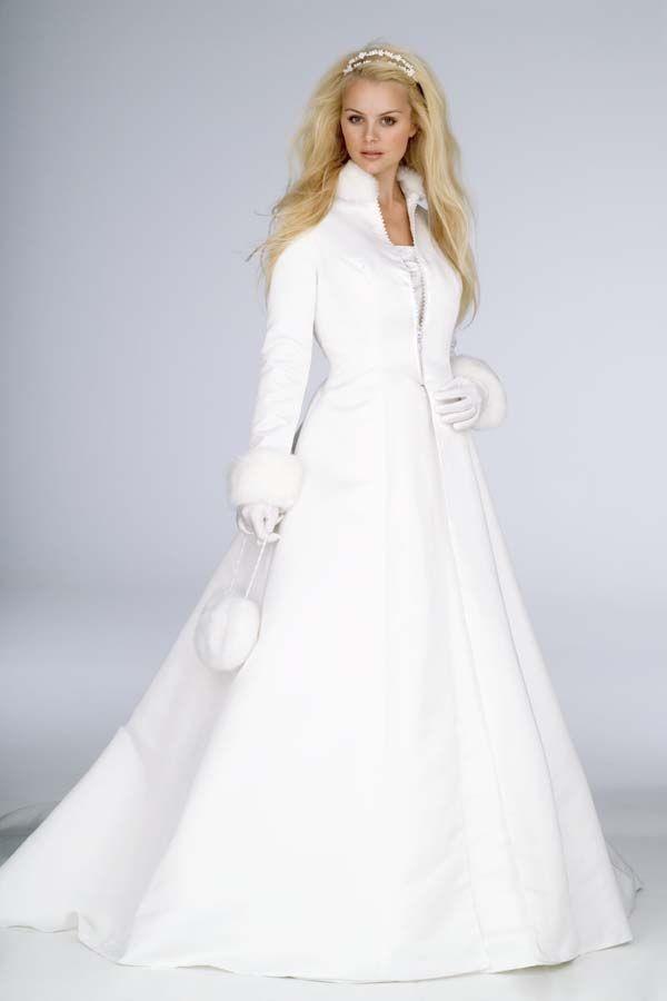 abrigo vestido novia