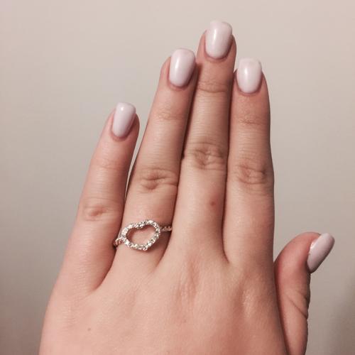 anillo corazones