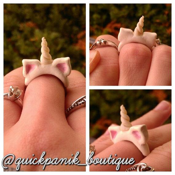 anillo unicornio