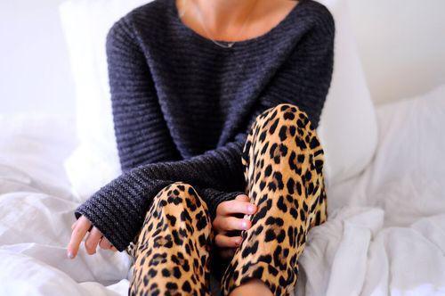 animal print pijama