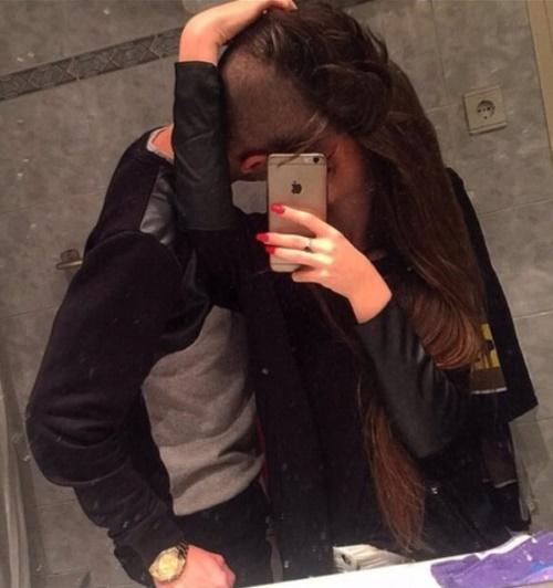 beso selfie