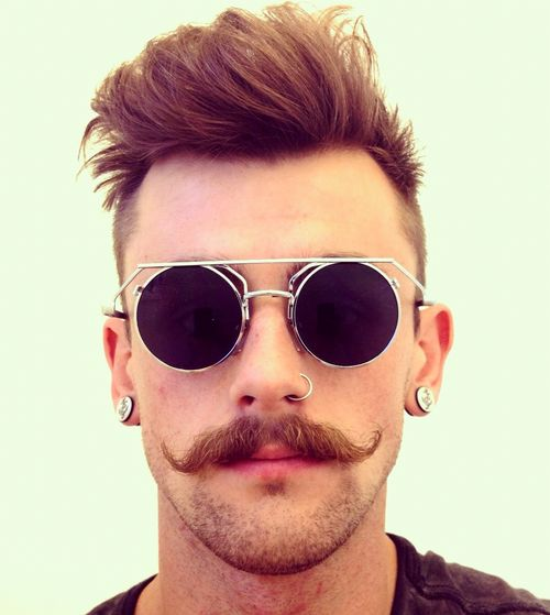 bigote hipster