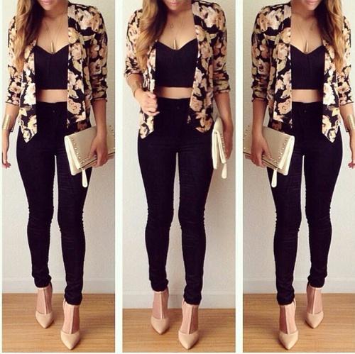 blazer top
