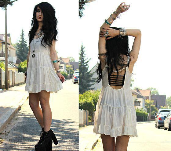 bralette vestido