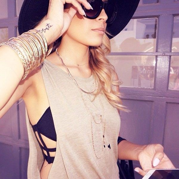 bralette wear