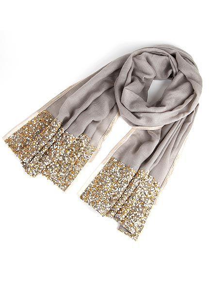bufanda dorada
