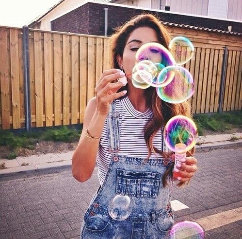 burbujas cute