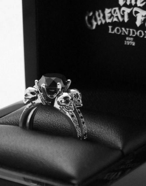 calaveras anillo