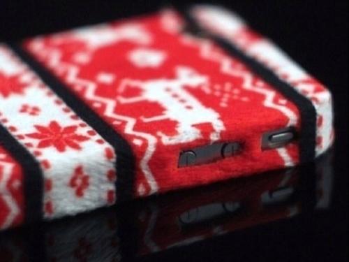 celular navideño
