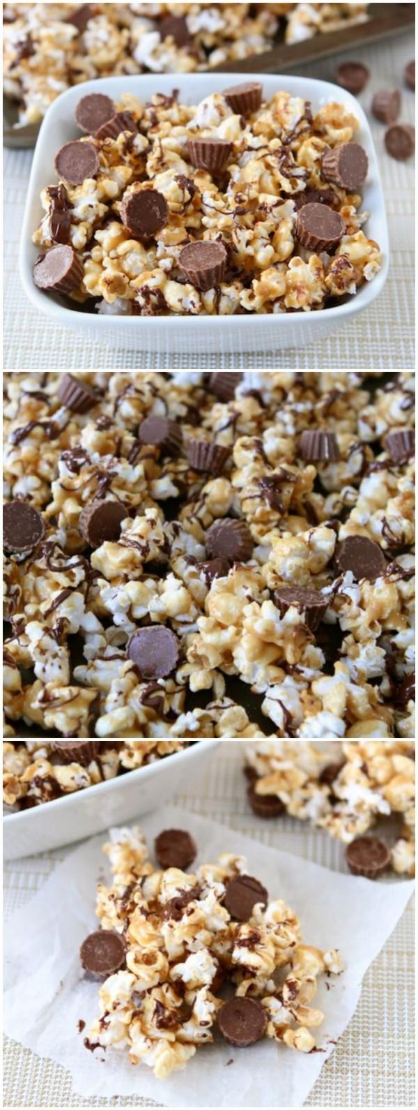 chocolates palomitas
