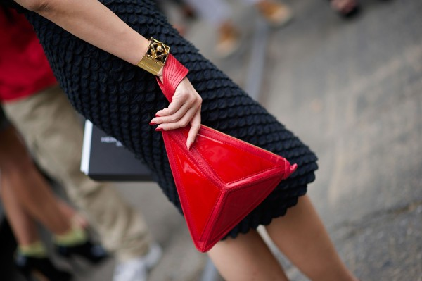 clutch bolso rojo cute