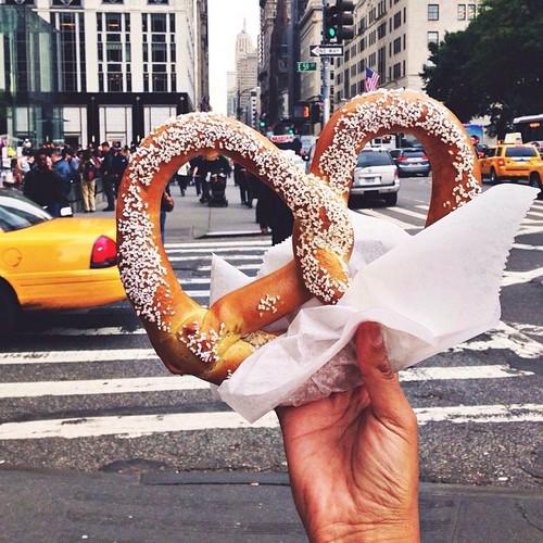comida pretzel